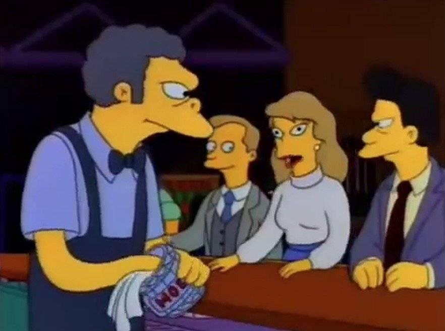 Los Simpsons errores
