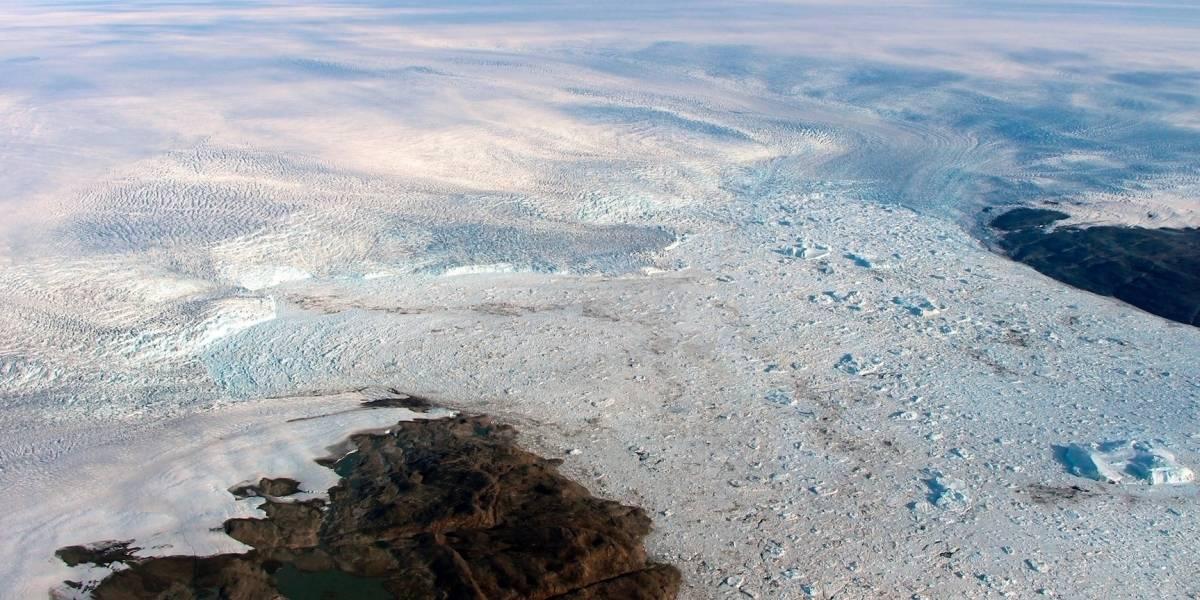 Groenlandia: Glaciar crece otra vez tras estar derritiéndose