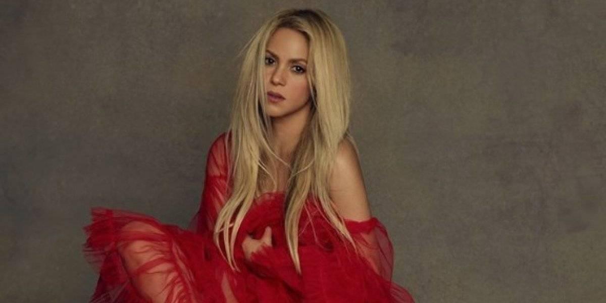 Descuido de Shakira en bikini y agachada deja ver de más