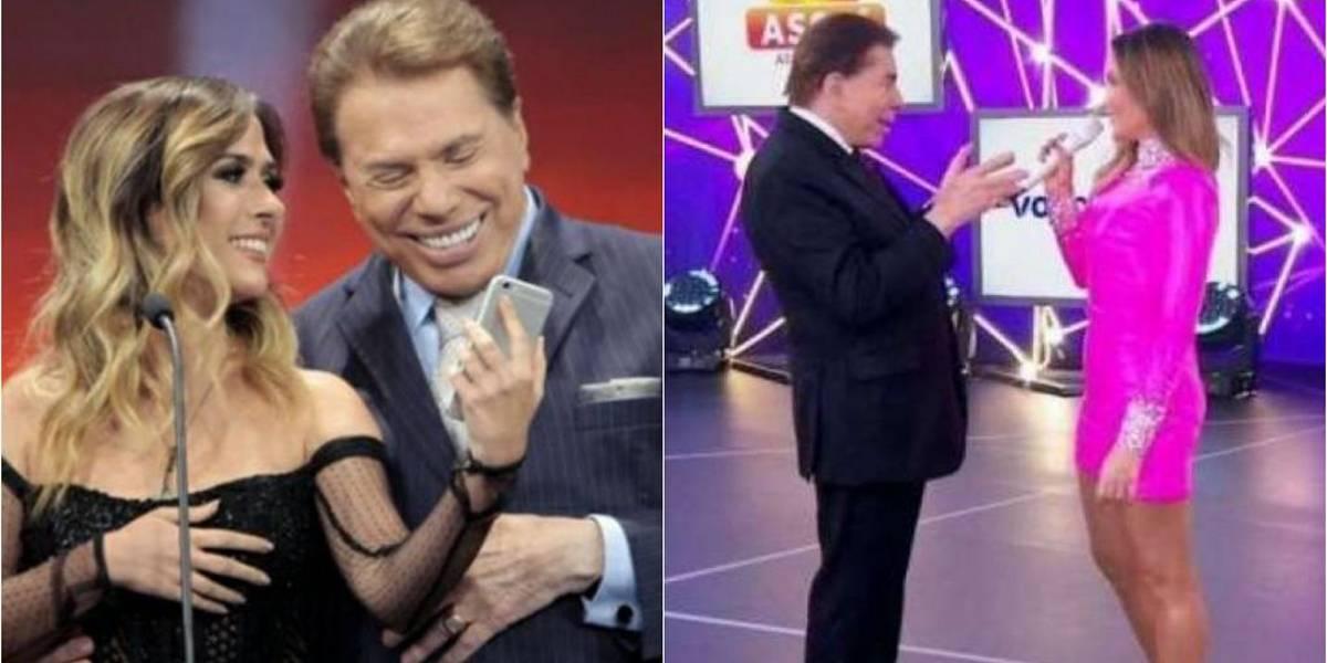 Na mesma noite, Silvio Santos alfineta Claudia Leitte e elogia Tatá Werneck
