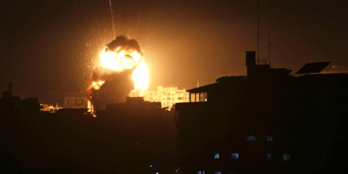 Israel bombardea a Hamas luego de cohete lanzado desde Gaza