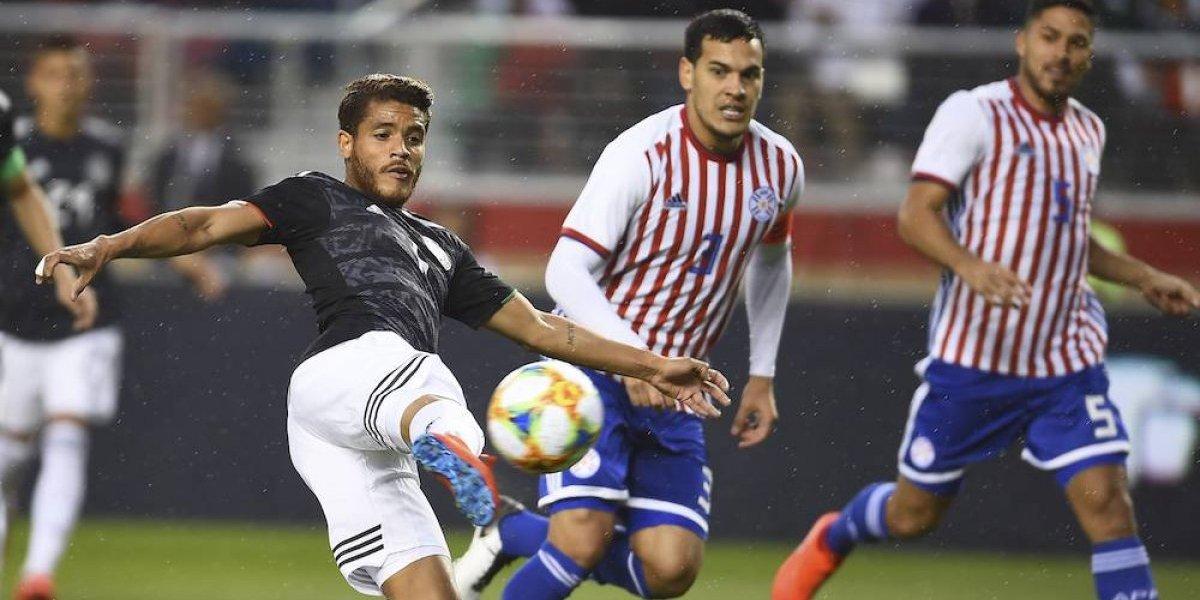 México se impone sobre Paraguay