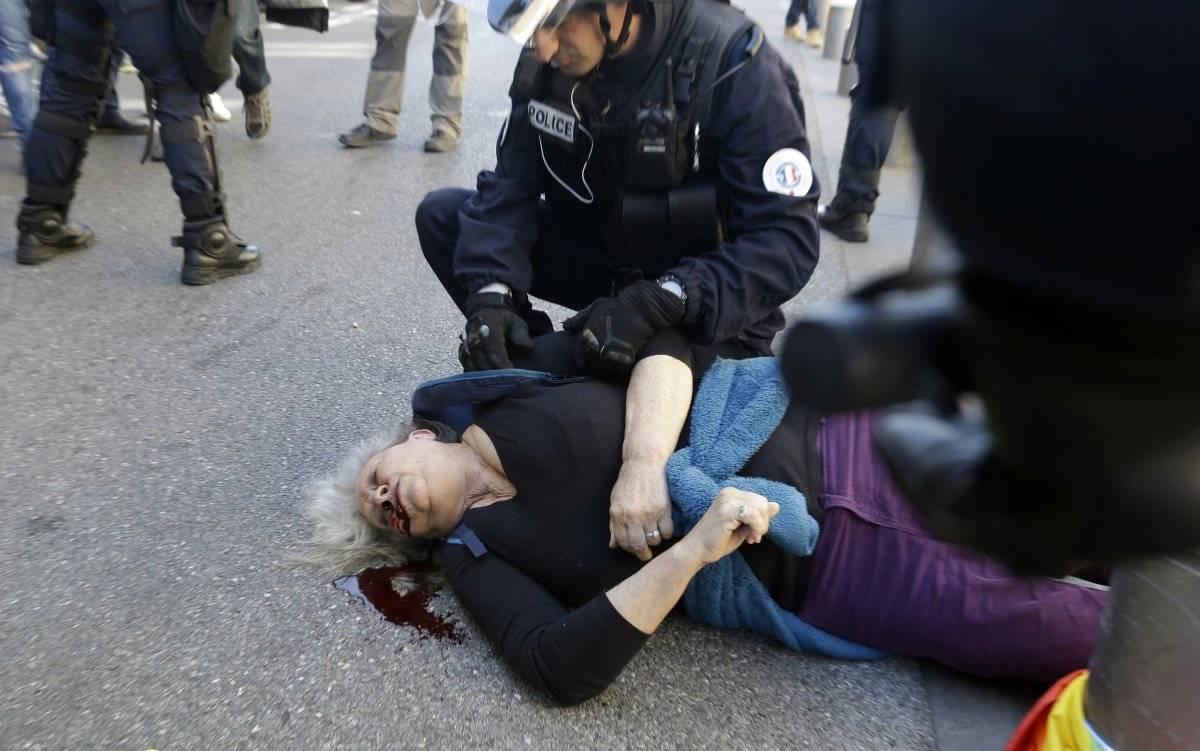 Francia protestas Macron
