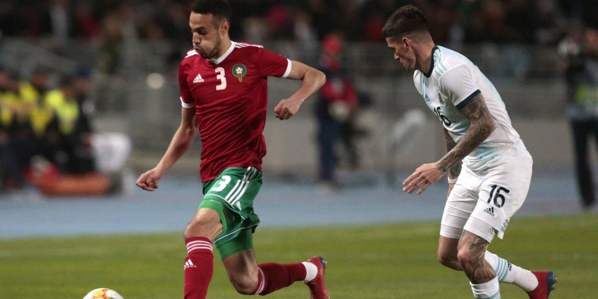 Argentina sufrió para reponerse y venció agónicamente a Marruecos