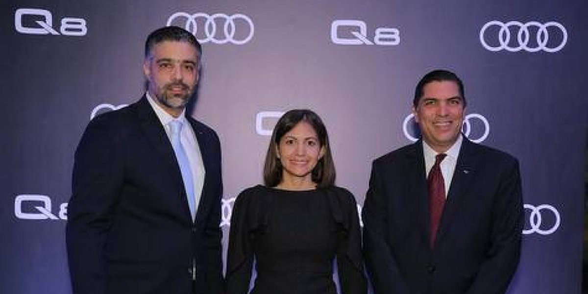 #TeVimosEn: Audi Dominicana presenta el nuevo Audi Q8