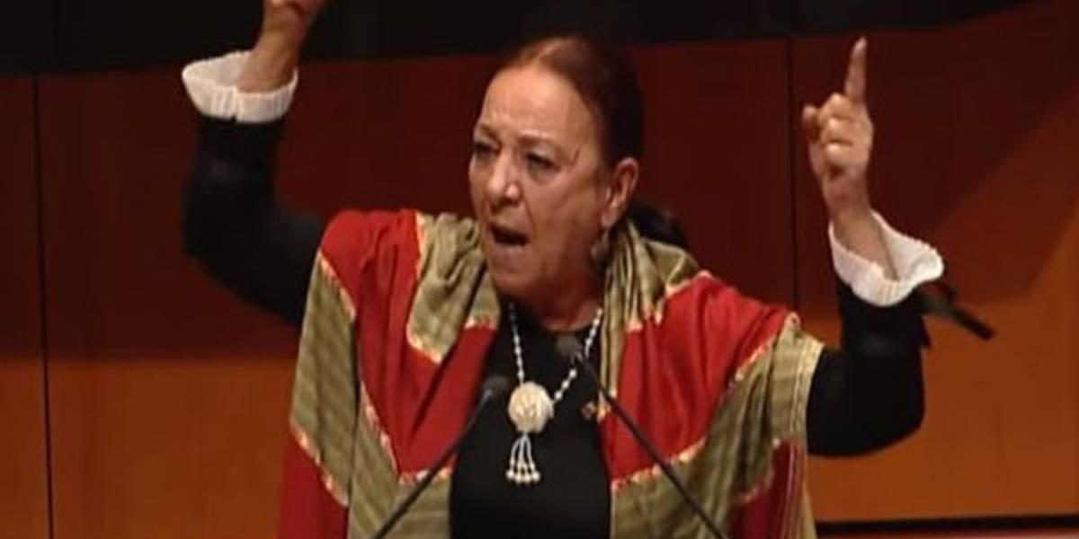 """Vídeo: Diputada mexicana: """"¡No les tengo miedo, cab...!"""""""