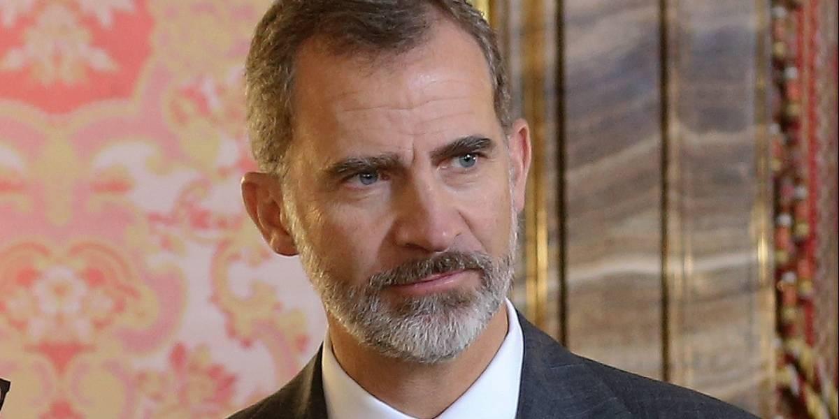 Rey Felipe de España renuncia a la herencia de su padre Juan Carlos