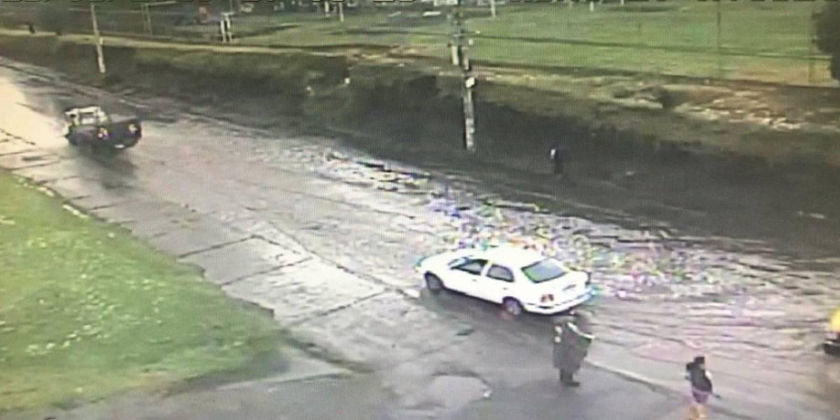 Lluvia y vendaval causaron estragos en el cantón Rumiñahui