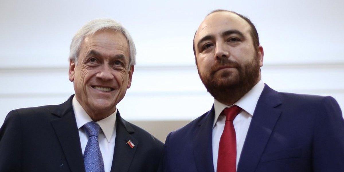 """Fuad Chahín conversó con Piñera en La Moneda: """"La DC no está para oponerse a todo"""""""