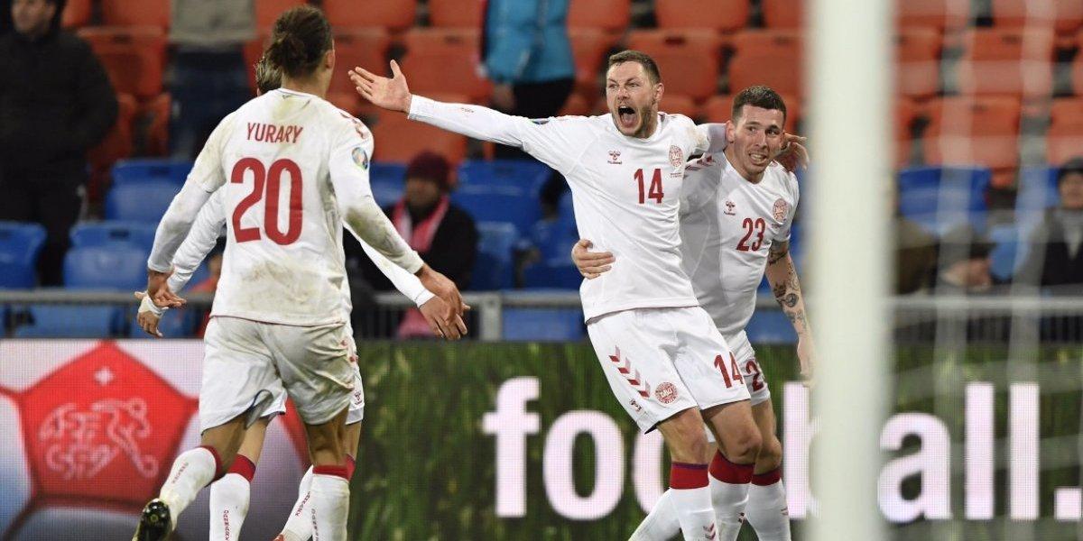 La tremenda remontada de Dinamarca marcó una nueva jornada de las clasificatorias a la Eurocopa