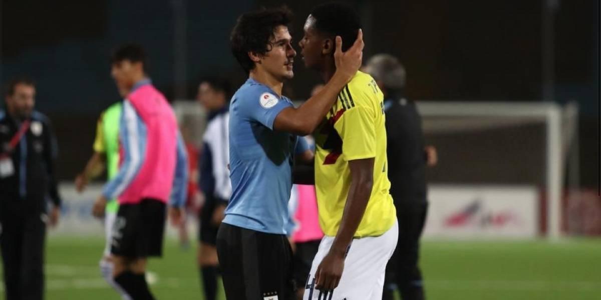 ¿Adiós? La ingenuidad le pasó factura a la Selección Colombia Sub-17 contra Uruguay