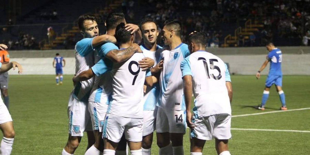 Guatemala derrota por la mínima a Nicaragua