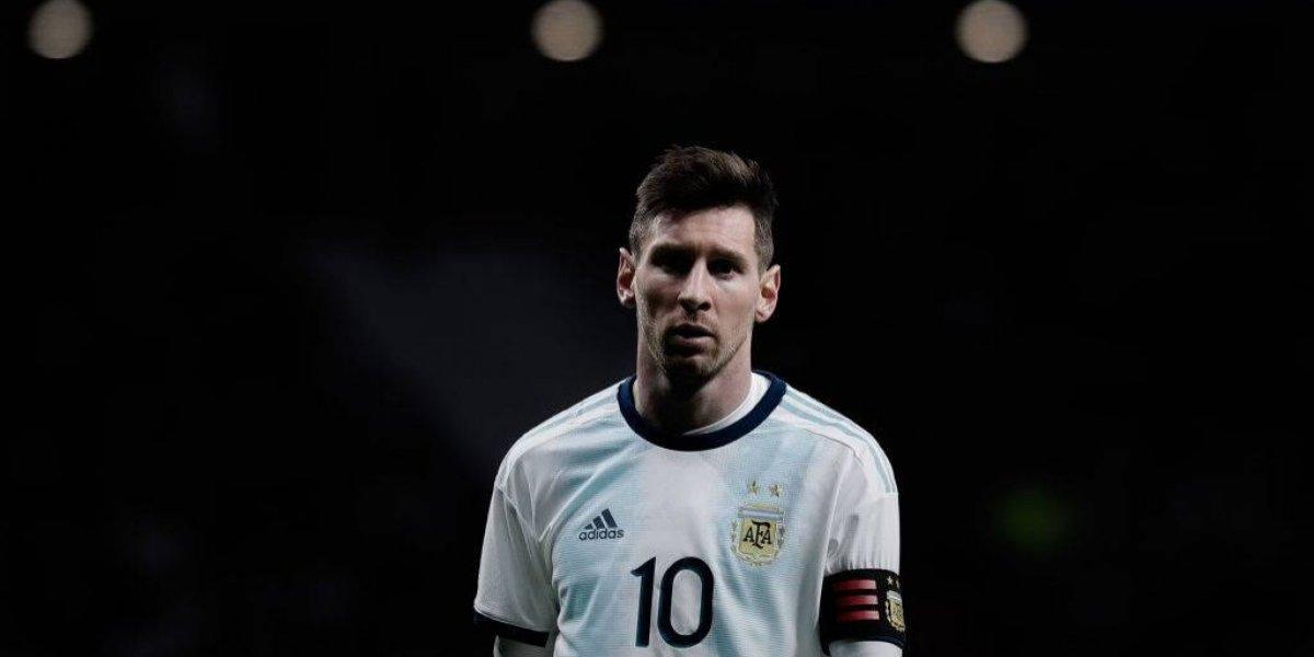 """Grave acusación contra Messi: """"No está lesionado, jugó por un compromiso comercial ante Venezuela"""""""
