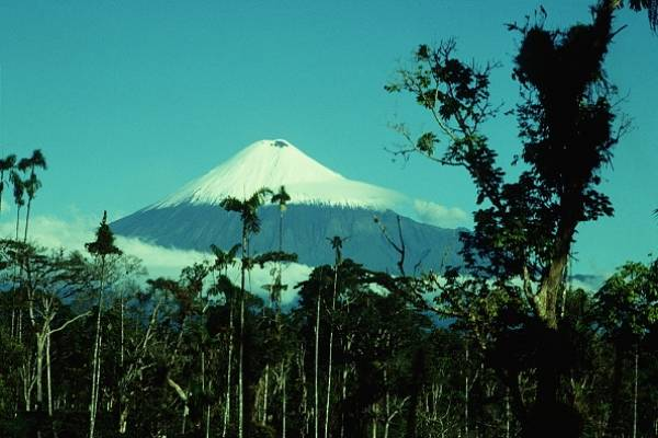Volcán Sangay inició nueva fase eruptiva; IG recomienda evitar los ascensos turísticos