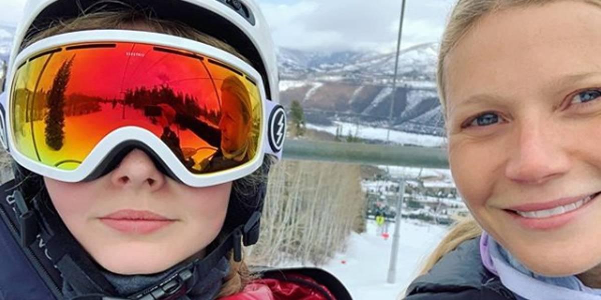 Gwyneth Paltrow leva puxão de orelha da filha por causa de selfie