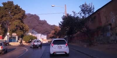 incendio en basurero de la zona 3