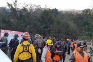 Incendio en San Juan Gascón, Antigua Guatemala.