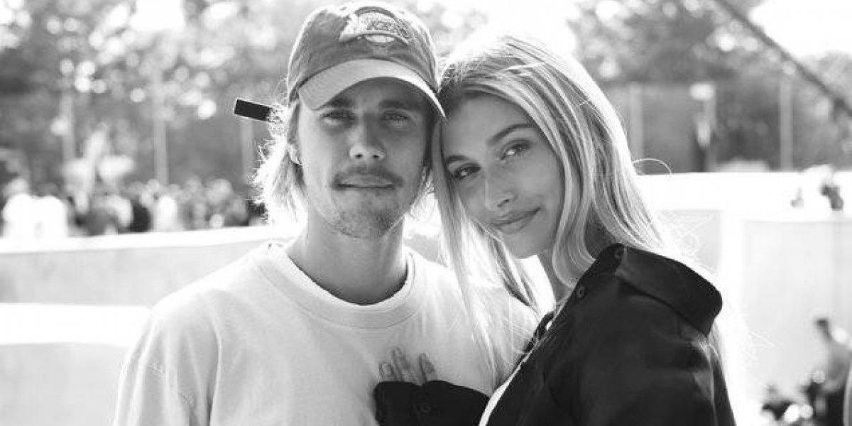 FOTO. Justin Bieber presume el cuerpazo de su esposa en diminuta lencería