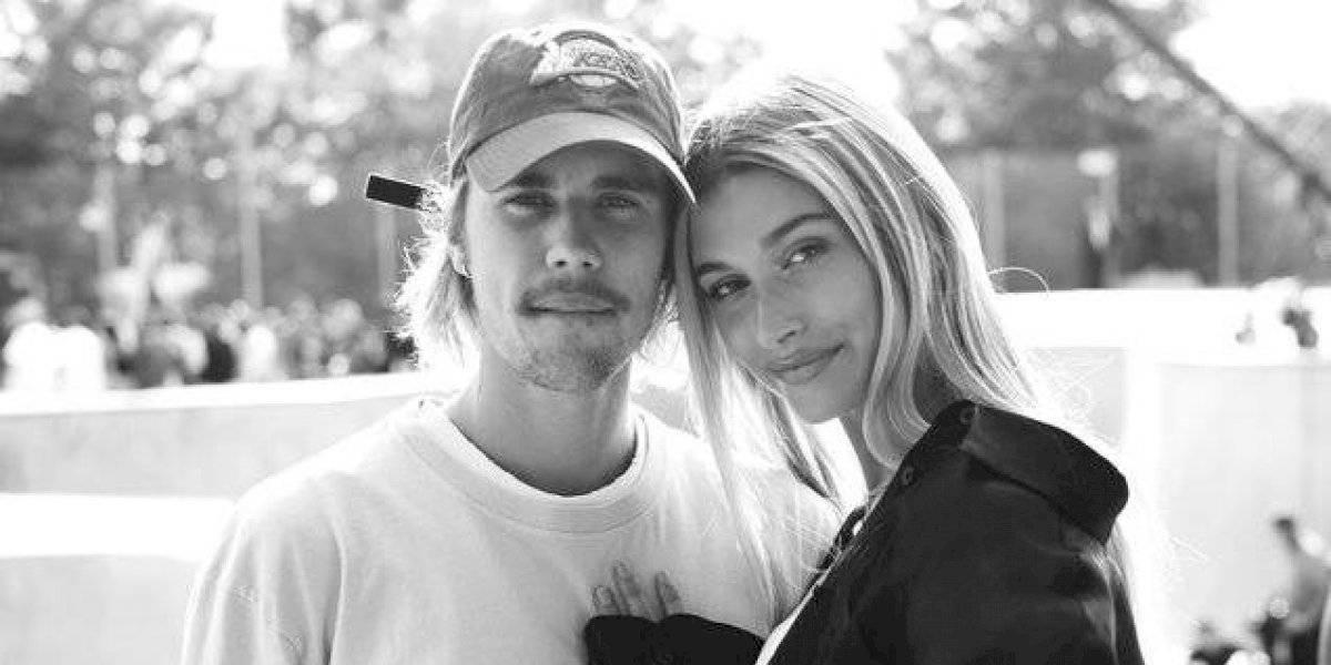 Justin Bieber enciende las redes con candente foto junto a Hailey Baldwin