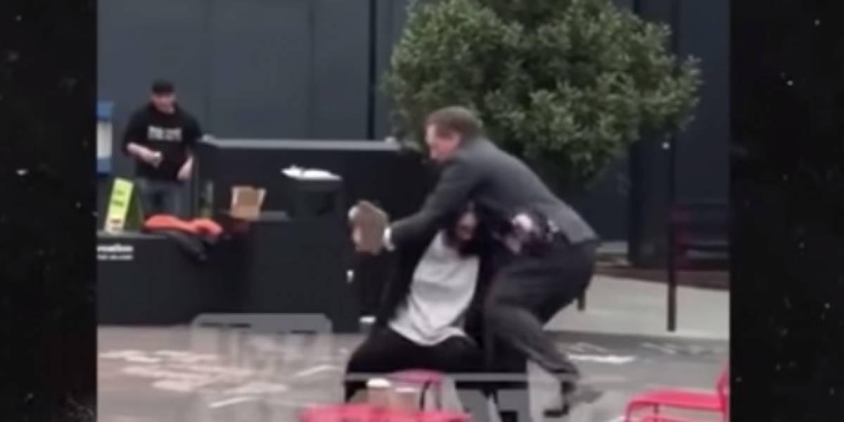VIDEO: Suspenden a CEO de San Francisco por violentar a su esposa