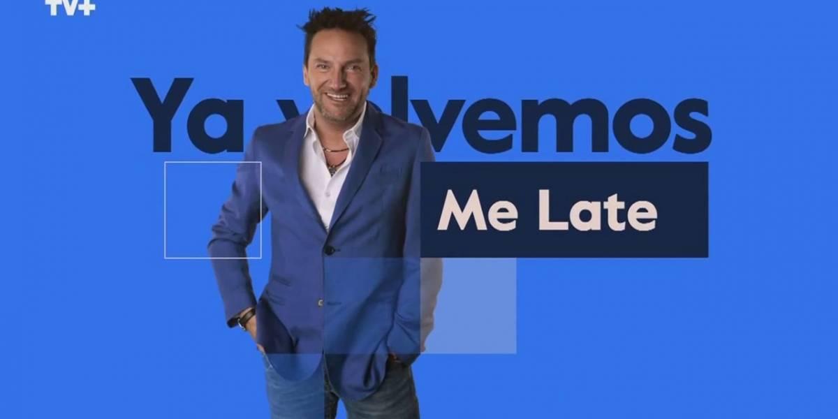 """""""Me Late"""" de Daniel Fuenzalida celebra cinco años al aire con nuevo formato y escenografía"""