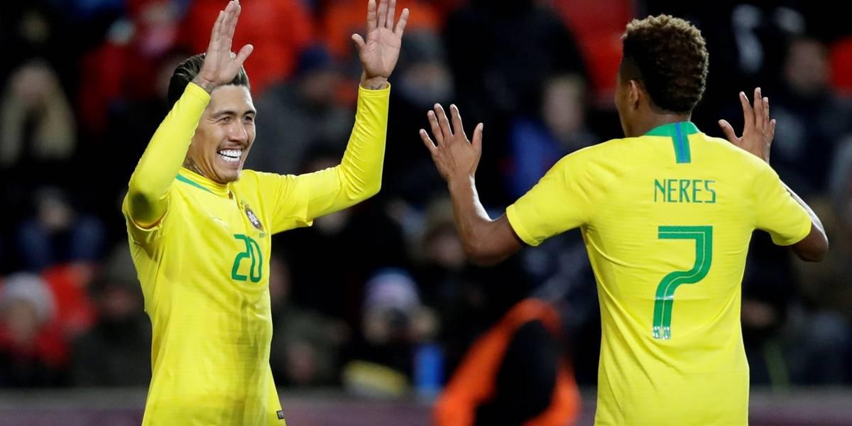 Gabriel Jesus desencanta e Brasil vence República Tcheca de virada