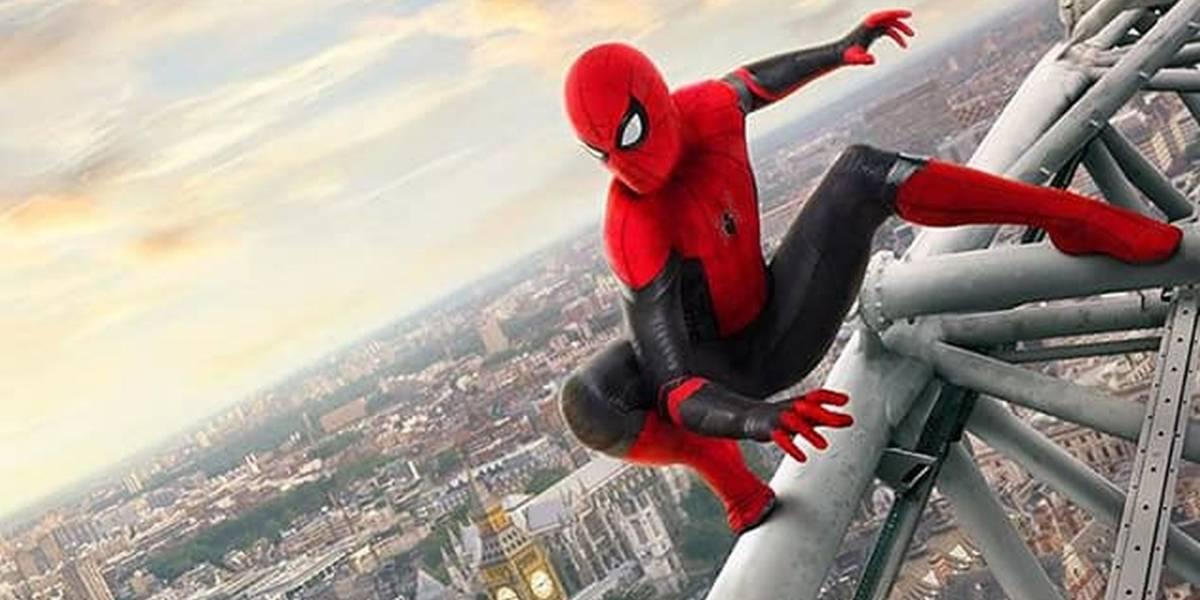 Spider-Man: Far From Home estrena pósters que muestran al héroe en Europa