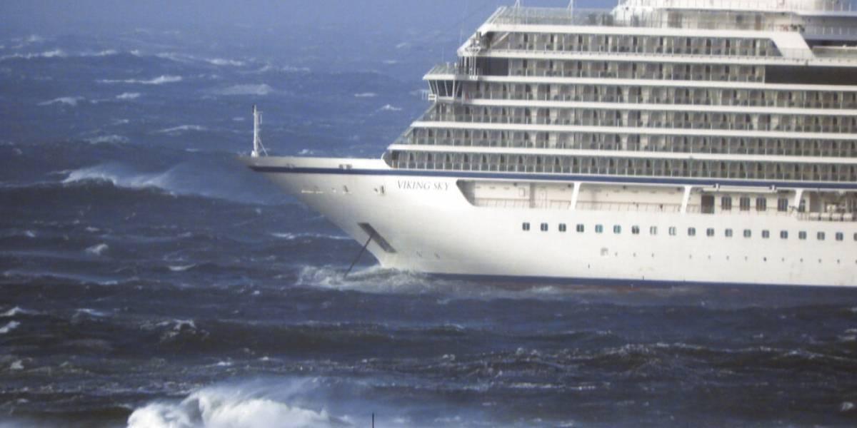 Emergencia en el crucero noruego fue por falta de aceite