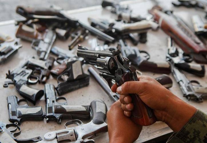 México pistolas