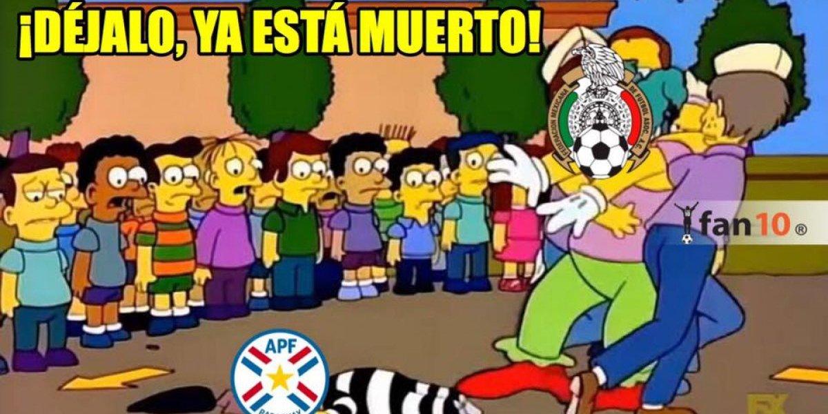 Los mejores memes de la victoria de México sobre Paraguay