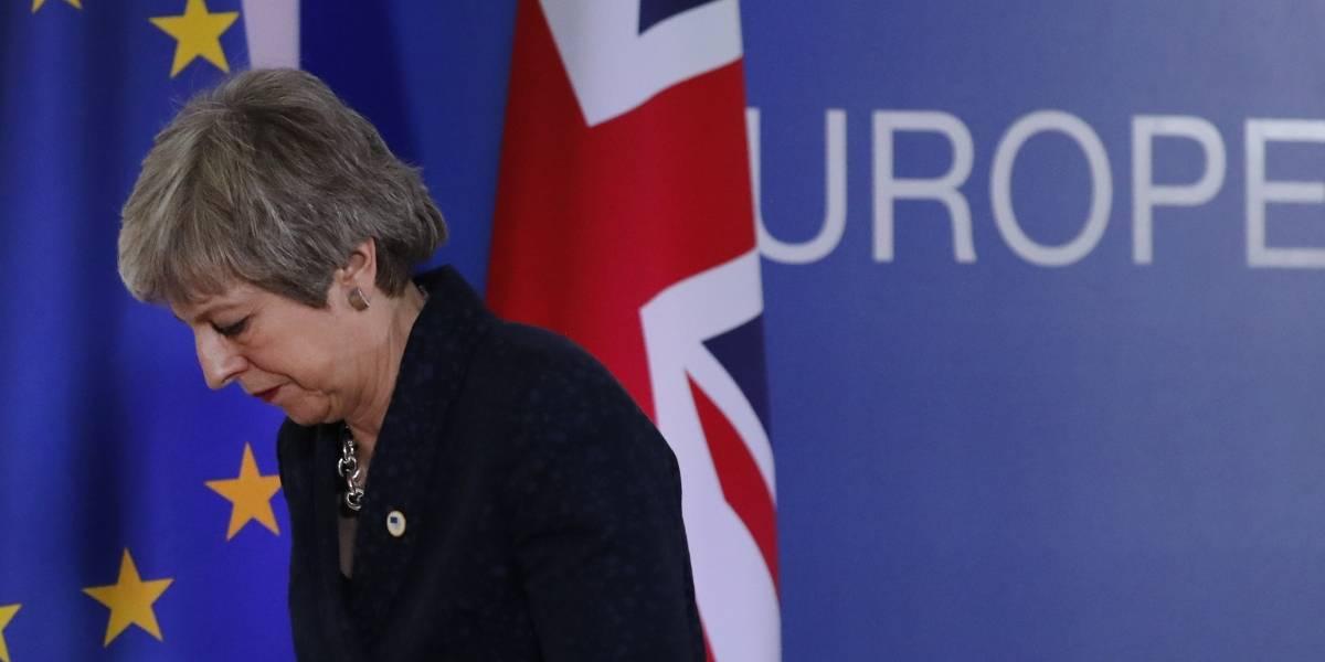 Inminente renuncia de la primera ministra Theresa May ante caos por el Brexit