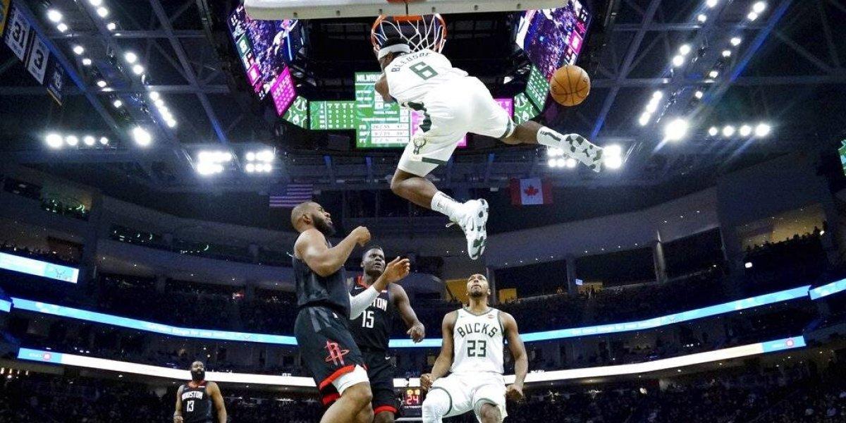 NBA: Milwaukee vence a Houston de Harden y queda cerca de asegurar la ventaja de local en los playoffs