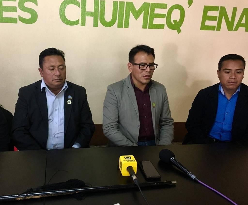 Junta directiva de los 48 cantones de Totonicapán
