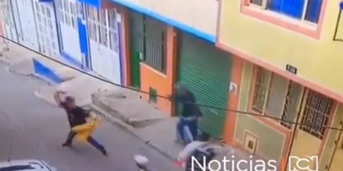 En Bogotá, ladrón regresó para vengarse de los vecinos que los detuvieron