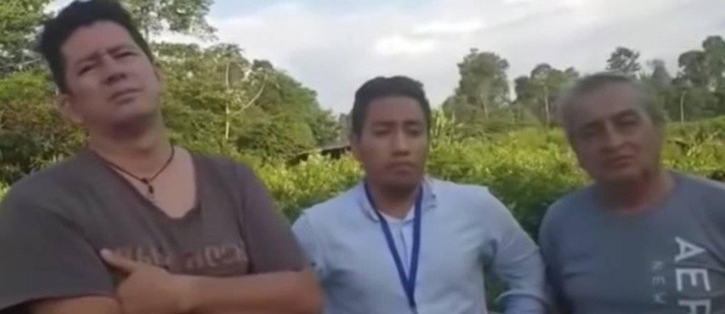 """Revelan video inédito de periodistas ecuatorianos asesinados por """"Guacho"""""""