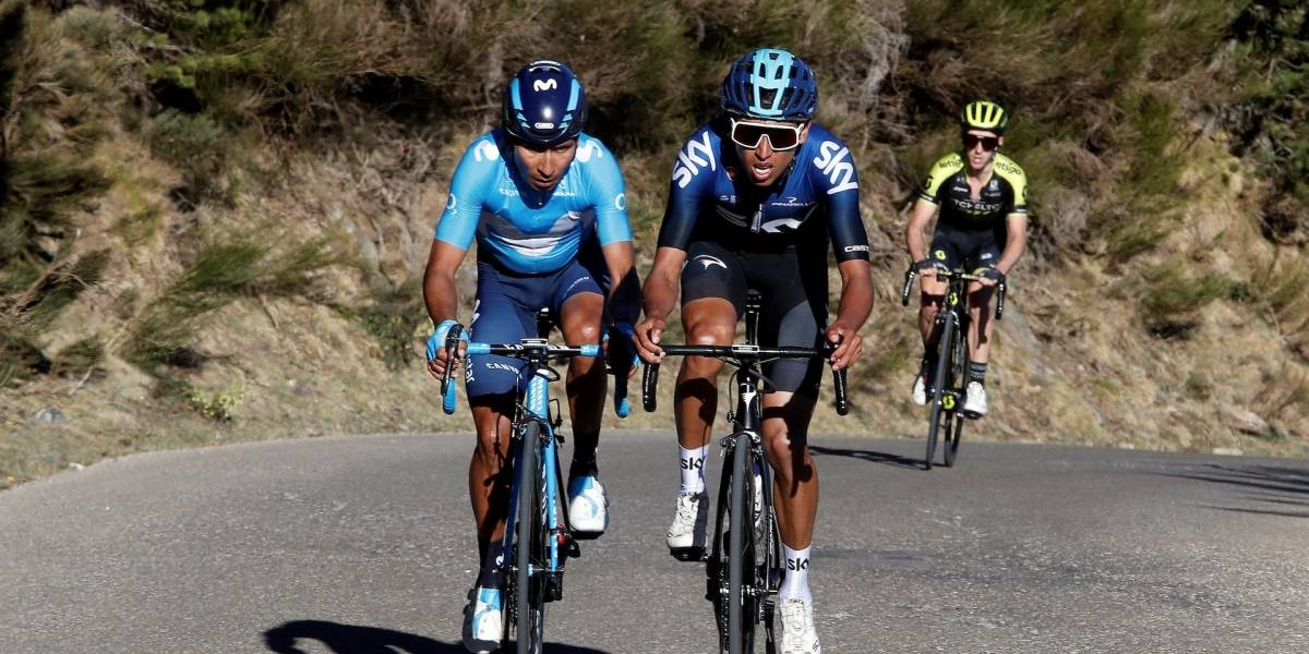 ¡Gigantes! Nairo, Egan y 'Superman' brillaron en la etapa reina de la Vuelta a Cataluña