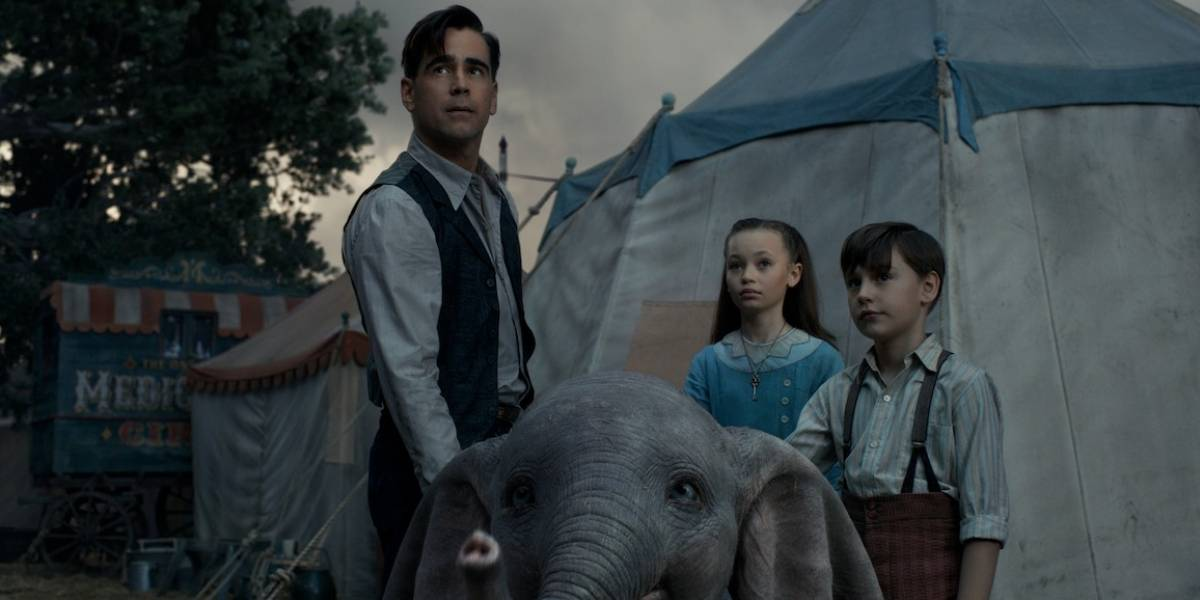 """En 'Dumbo' hay una dulzura generalizada, un sentido de esperanza"": Colin Farrell"
