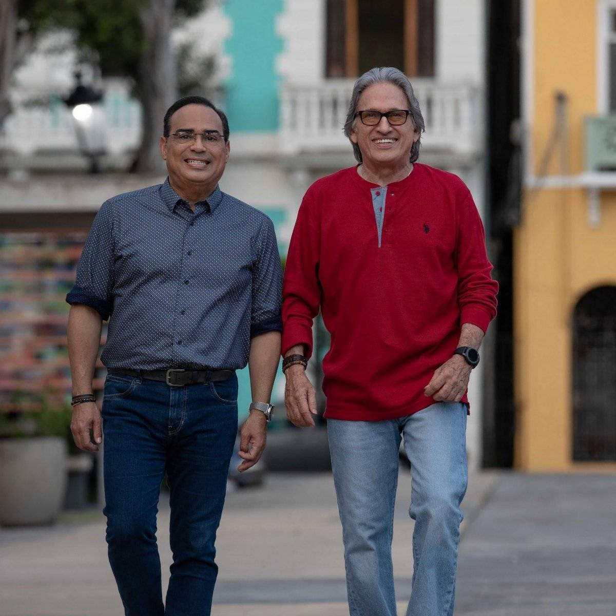 Gilbertito Santa Rosa y José Nogueras