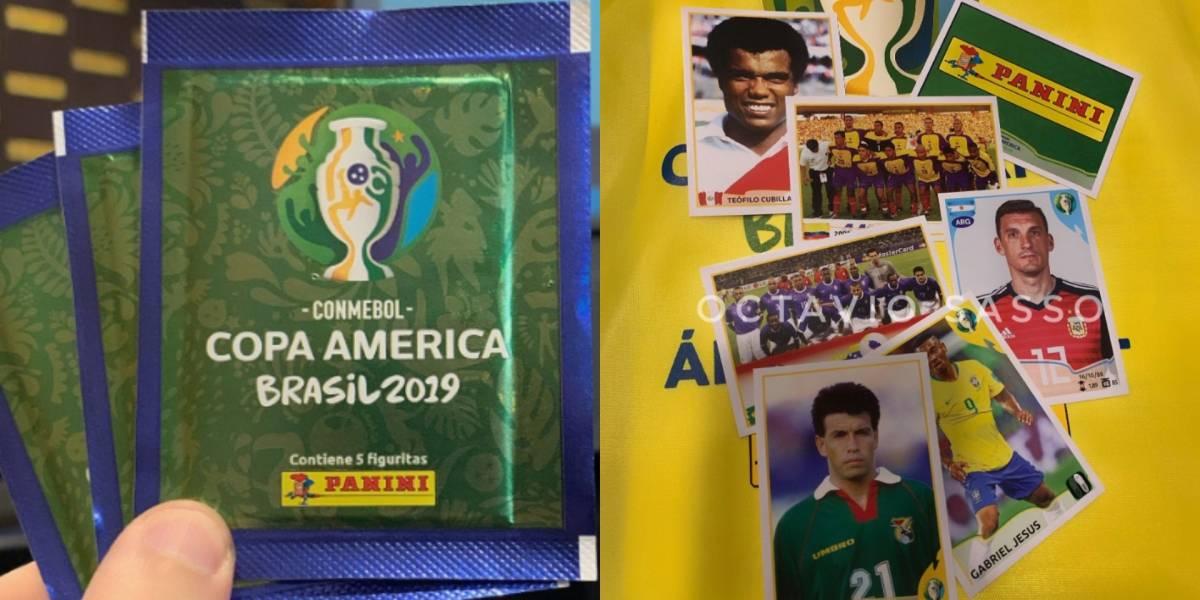 Revelan precios de sobres y caja del álbum Panini de la Copa América 2019