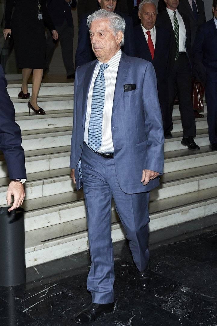 """""""Que México no se suicide eligiendo a López Obrador como presidente"""", señaló Vargas Llosa en campaña Foto: Getty Images"""