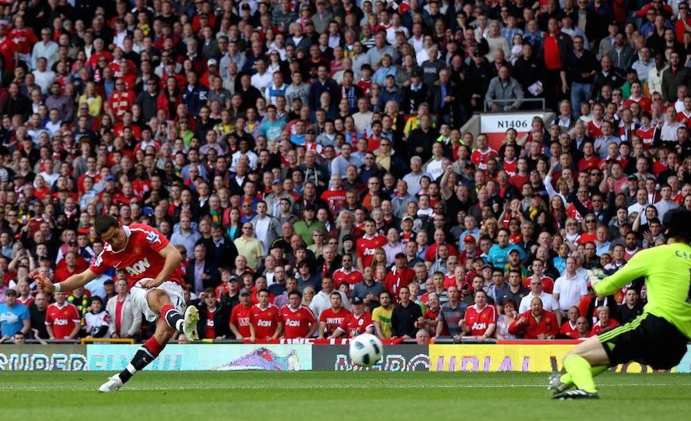 Ese gol lo convirtió en 2011. / Getty Images