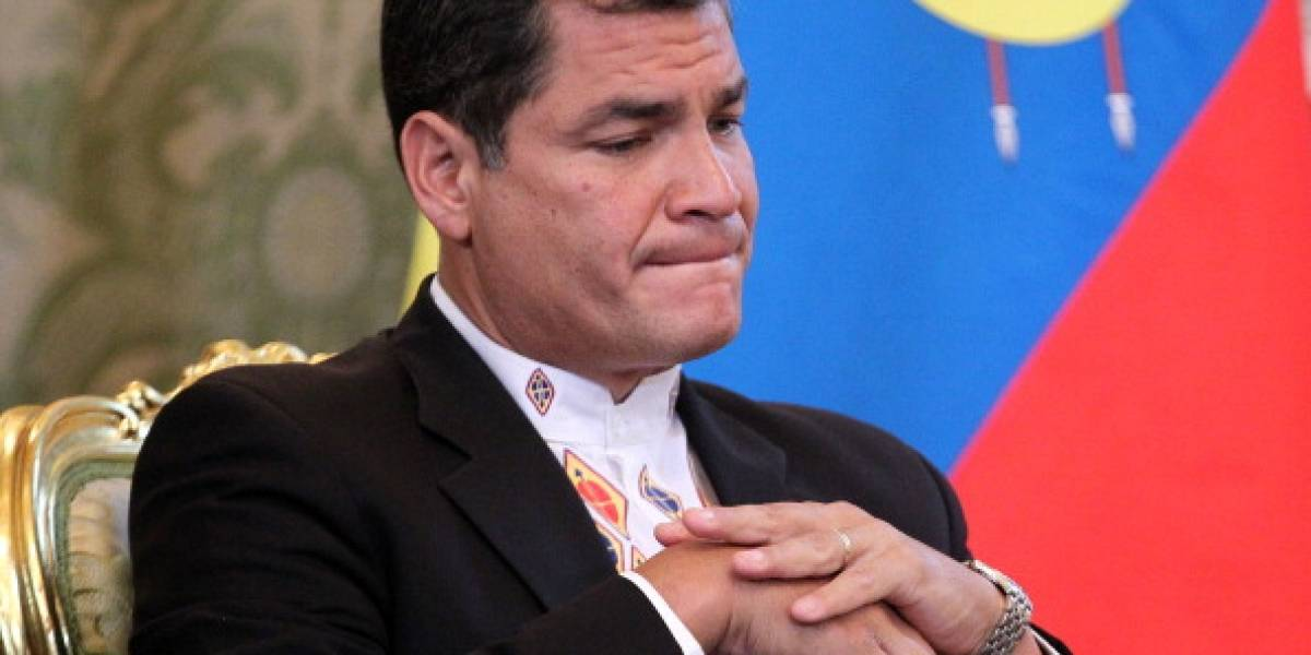 Rafael Correa, conmovido con canción que le dedicó adolescente y compartió el video en Twitter