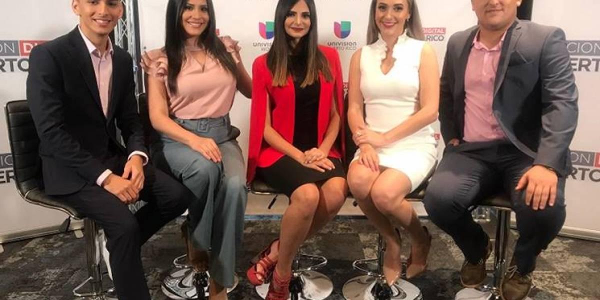 Univisión Puerto Rico presenta nuevo formato de noticias