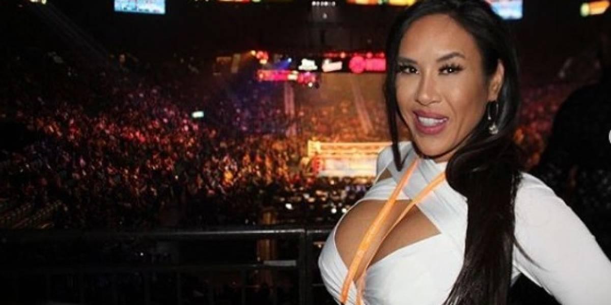 FOTOS: Ella es Jenny Sushe, la reportera que fue besada por un boxeador
