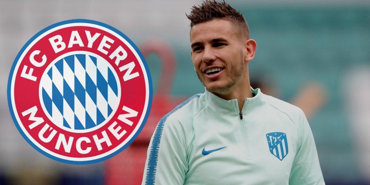 OFICIAL: Bayern Múnich ficha a Lucas Hernández por cinco años