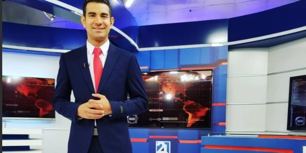 Luis Antonio Ruiz, periodista de Teleamazonas, anunció que padece cáncer