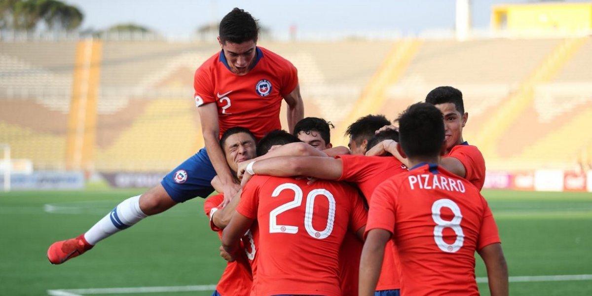 """Chile """"mató"""" a Venezuela en el primer tiempo y quedó bien aspectado en el Sudamericano Sub 17"""