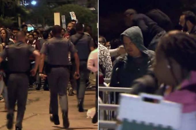 policia pacaembu fila sandy e junior