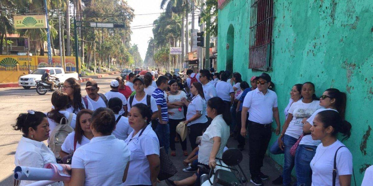Salubristas piden respuestas por desaparición de mujer en Retalhuleu