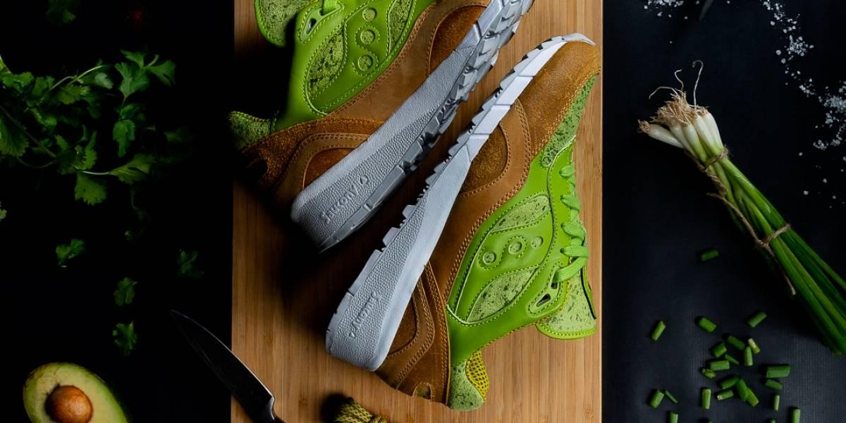 Quiero veinte pares y unos nachos: Saucamole, las zapatillas inspiradas en la palta